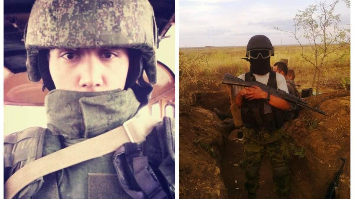 Російський спецназівець на Донбасі
