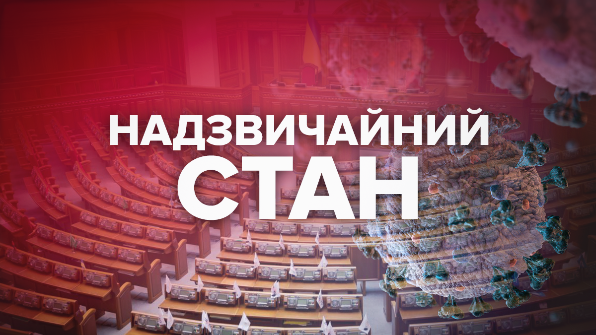 Надзвичайний стан 2020 в Україні – закон, що це означає
