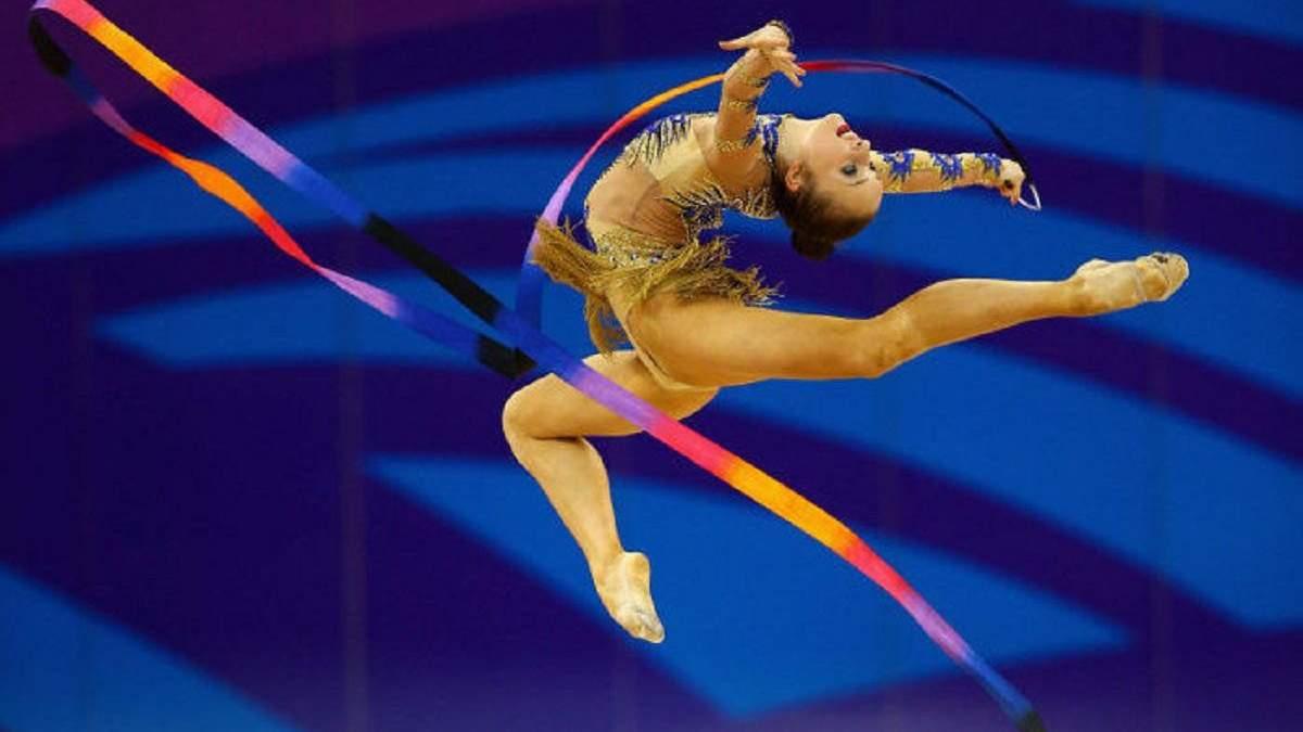 Чемпіонат Європи з художньої гімнастики у Києві скасовано