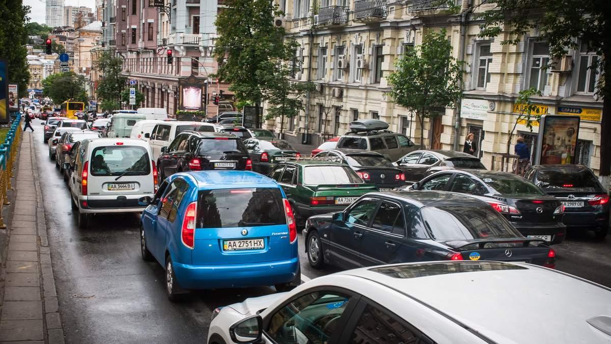 Пробки в Киеве 18.03.2020, потому что закрыли метро – карта