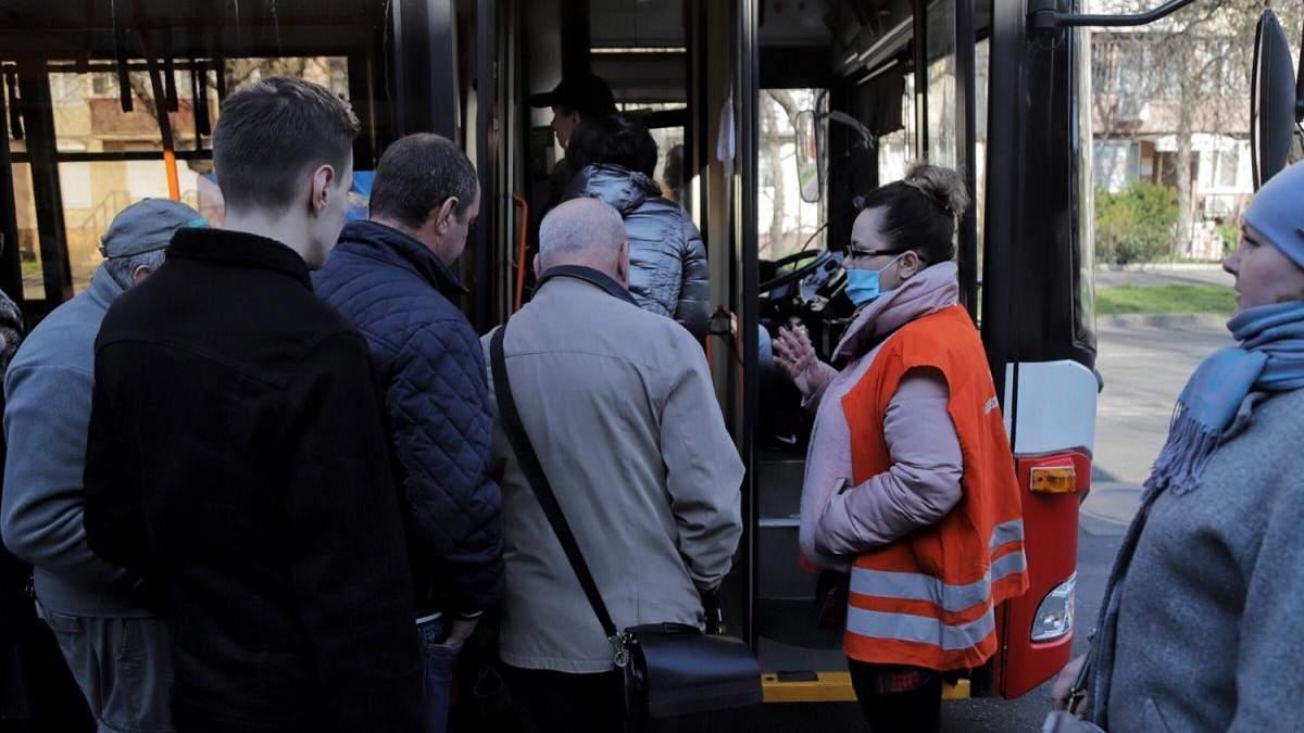 Контролери перераховують кількість пасажирів