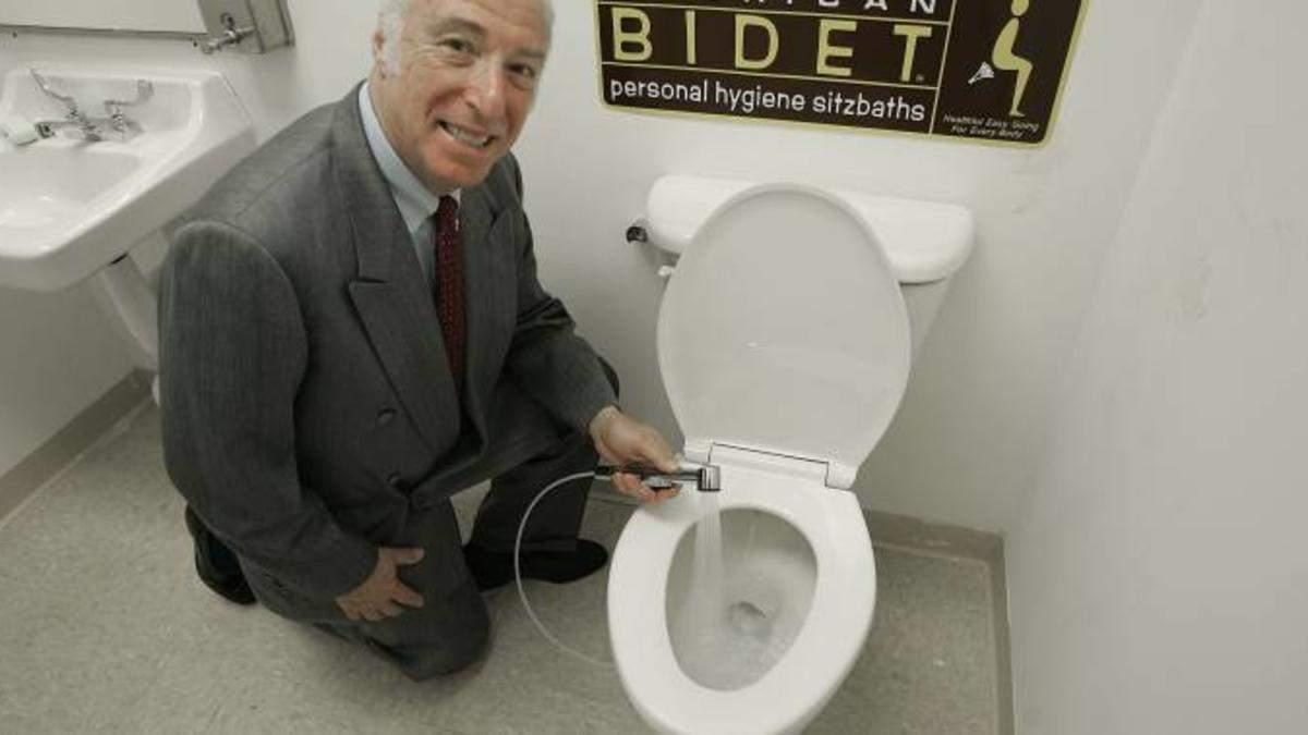 Біде – як альтернатива туалетному паперу