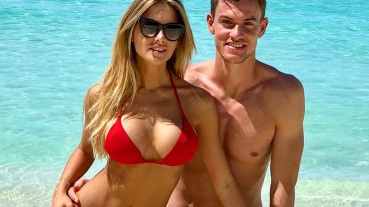 Даніеле Ругані з дівчиною