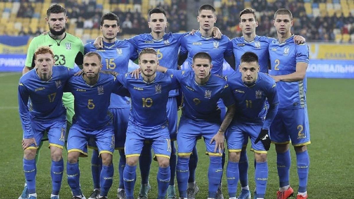 збірна України U-21