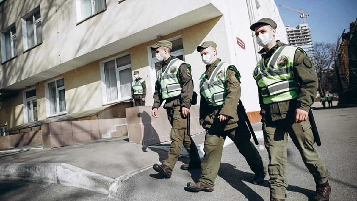 Нацгвардию задействовали в борьбе с коронавирусом в Украине
