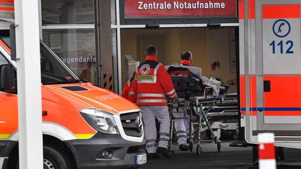У Німеччині фіксують низьку смертність від коронавірусу