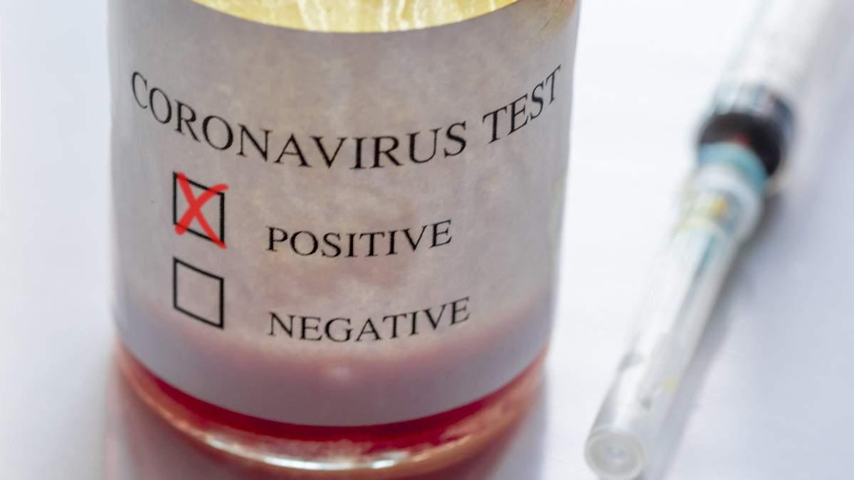 В Україні зафіксували 41 випадок коронавірусу