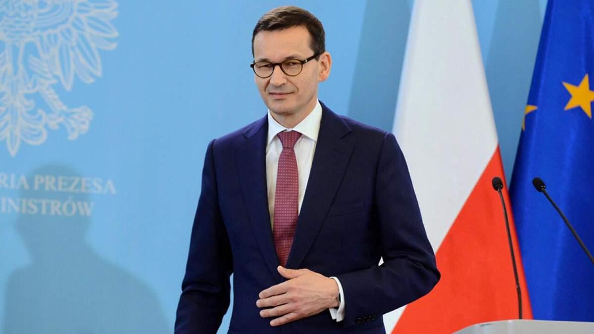 Моравецкий объявил в Польше режим эпидемии
