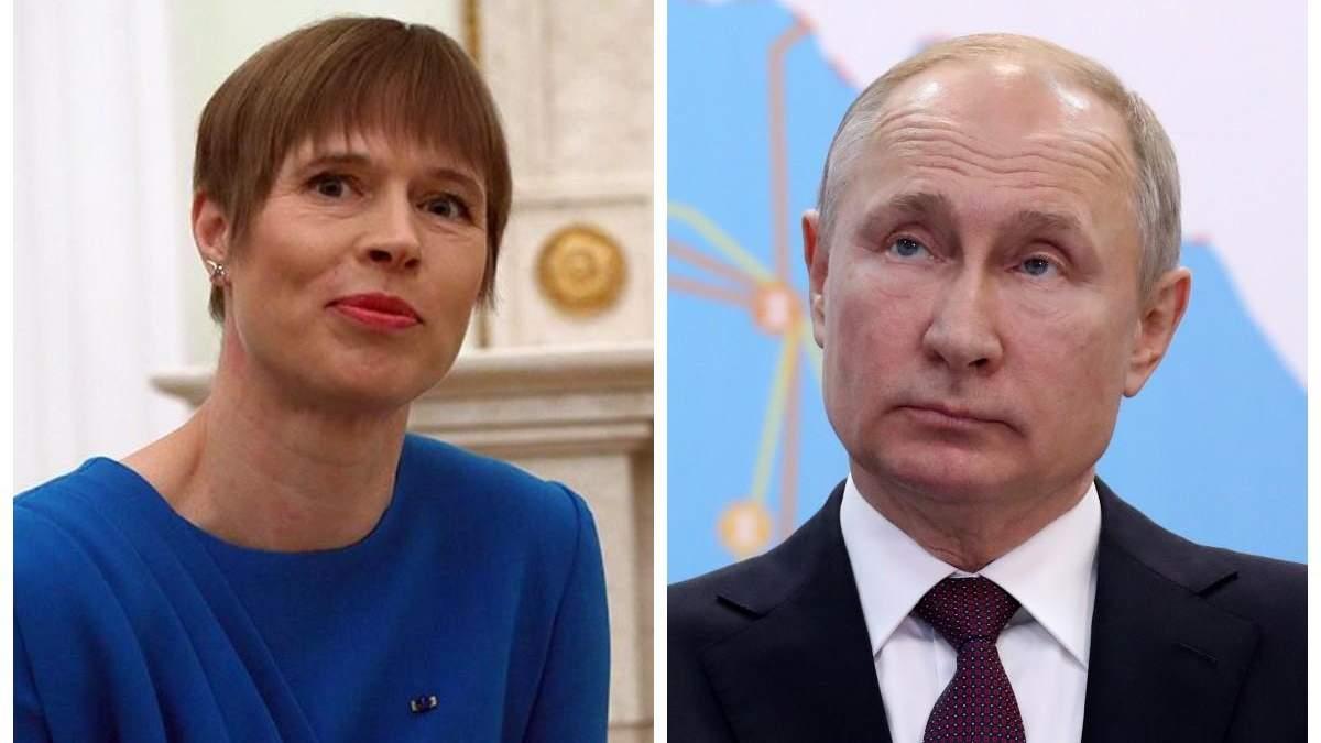 Естонія хоче повернути свої території у Росії
