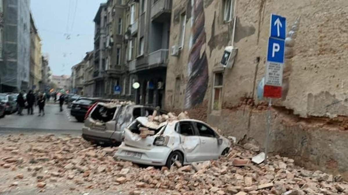 Землетрясение в Хорватии: в Загребе 22.03.2020 произошли два землетрясения