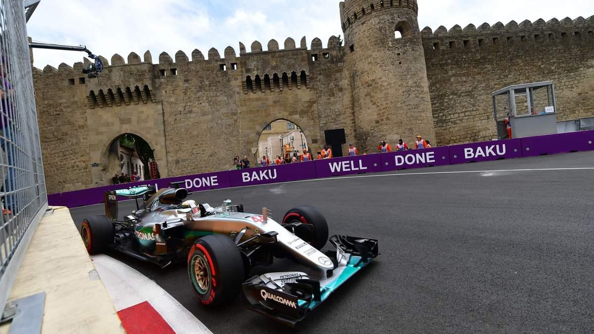 Гран-прі Азербайджану може не відбутися