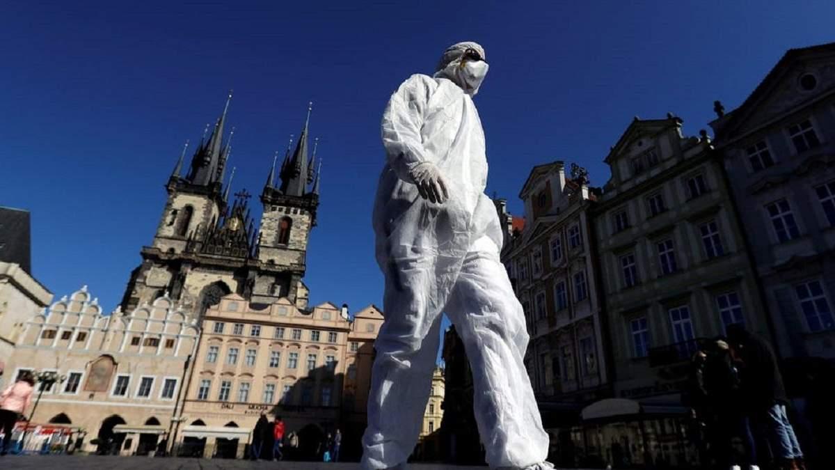 Від коронавірусу у Чехії помер 95-річний чоловік