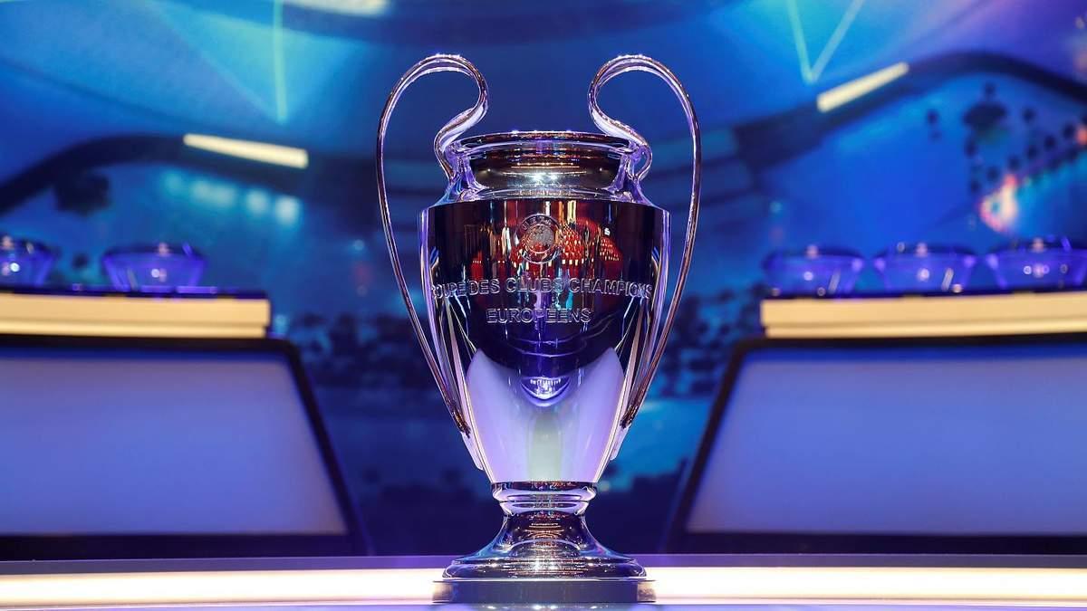 Финалы Лиги чемпионов и Лиги Европы перенесли