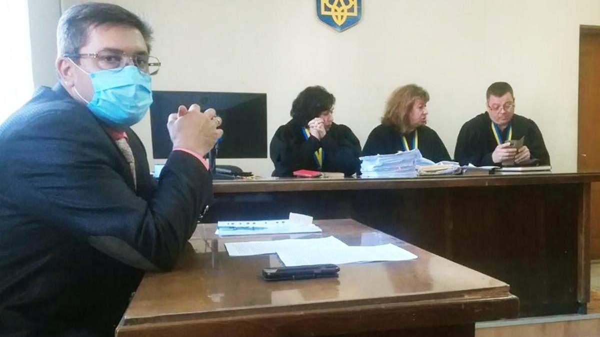 Одеський прокурор Сергій Поченюк захворів на коронавірус і ходить на роботу: фото