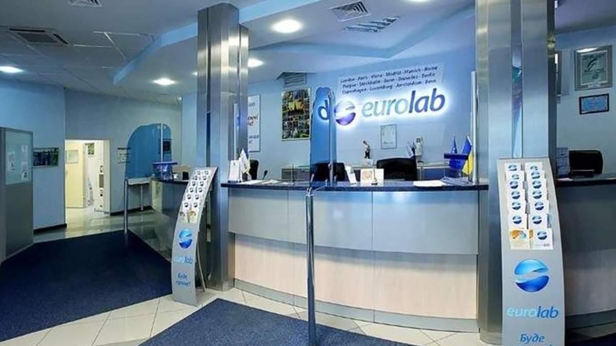 Прокуратура відкрила справу через приховання клінікою Eurolab випадків зараження коронавірусом
