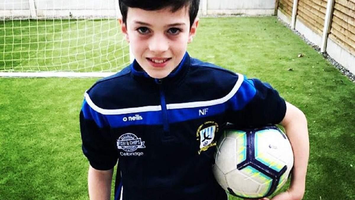 Нейт – юна зірка футболу