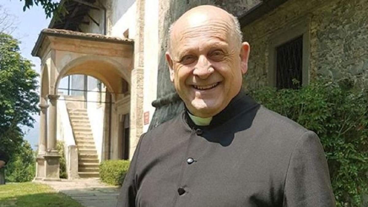 В Італії від коронавірусу помер священник, який віддав свій респіратор молодшому пацієнту