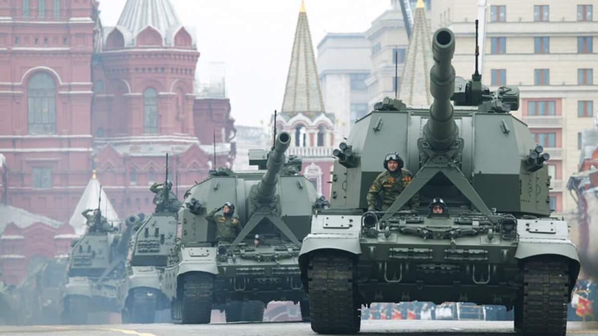 Скрізь карантин, але Росія активно готується до параду на 9 травня