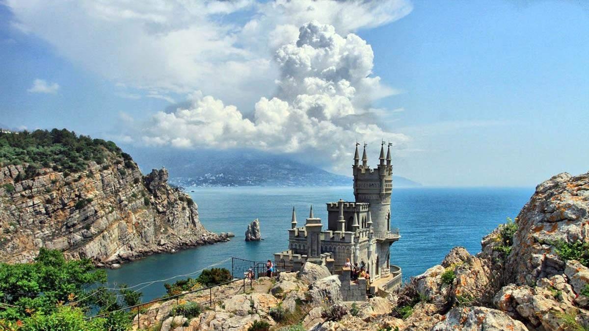 Оккупированный Россией Крым