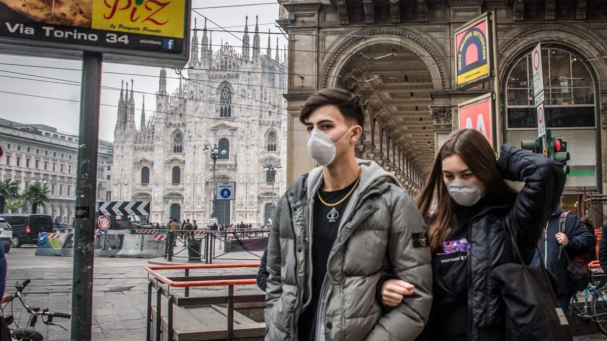 Коронавірус в Італії: статистика