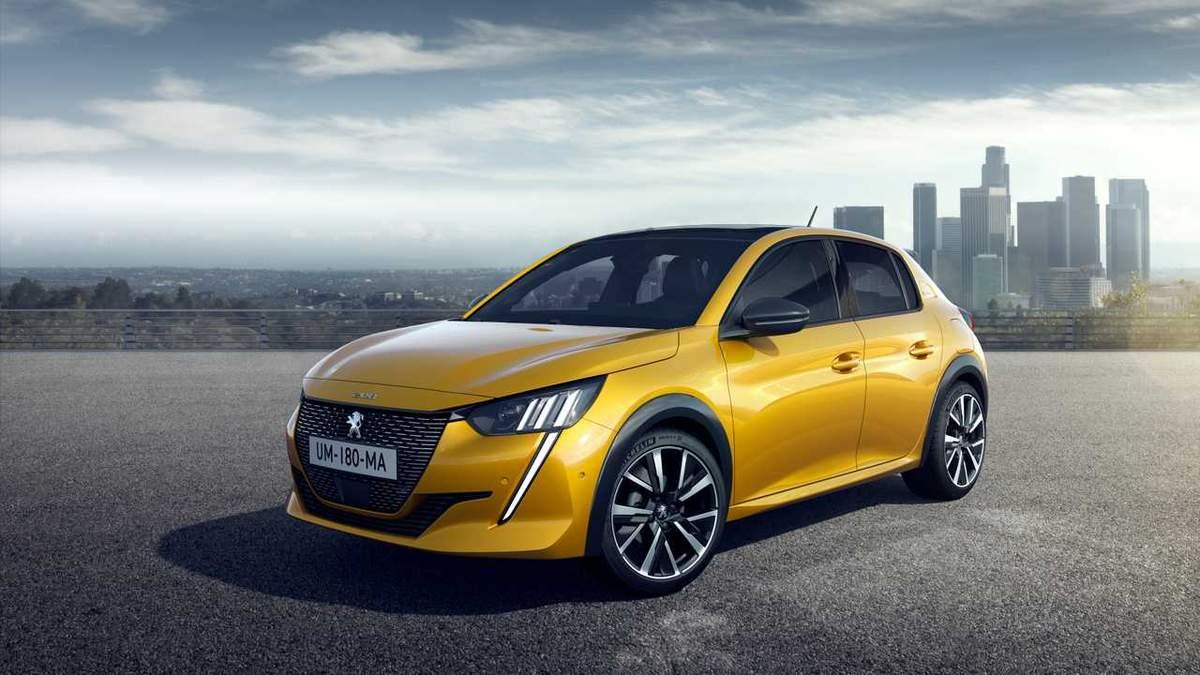 Машиною року в Європі став хетчбек Peugeot 208: фото, відео