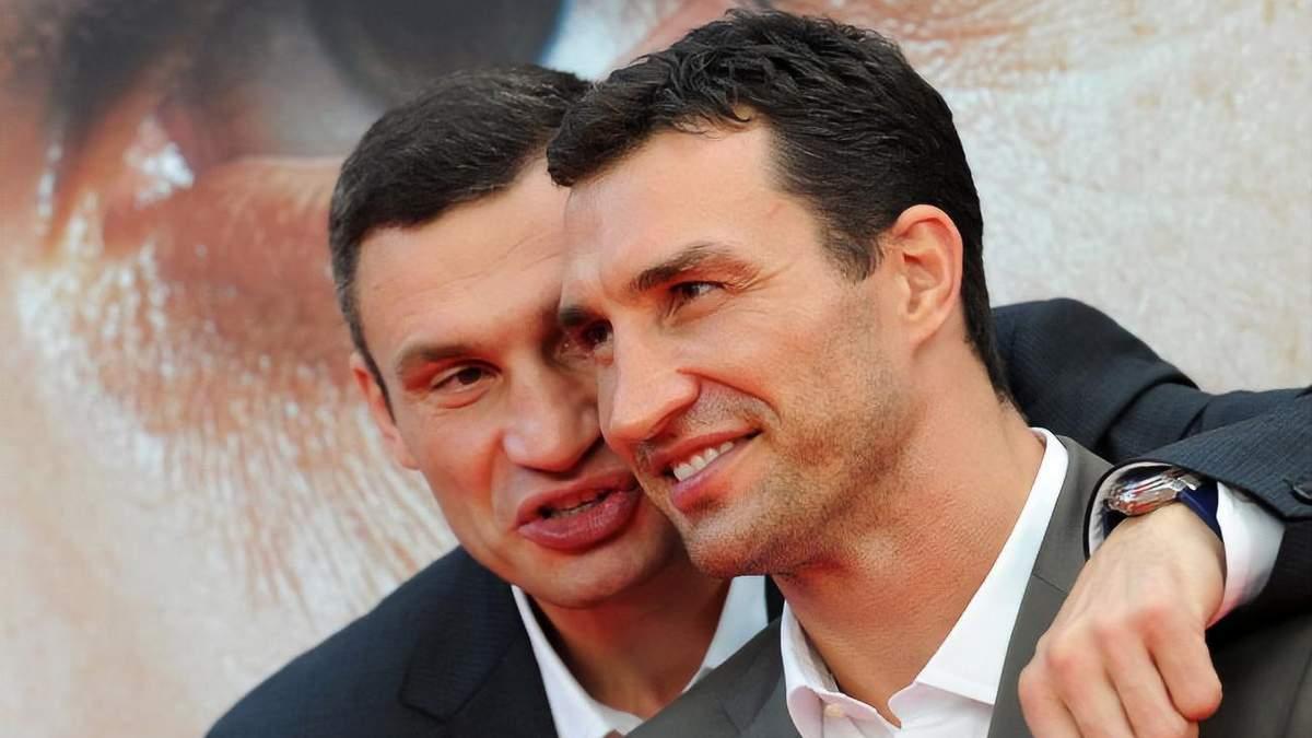 Володимир і Віталій Кличко