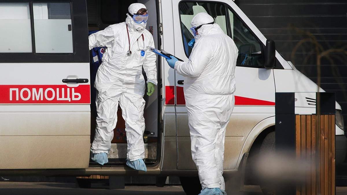 У Росії померли перші люди від коронавірусу