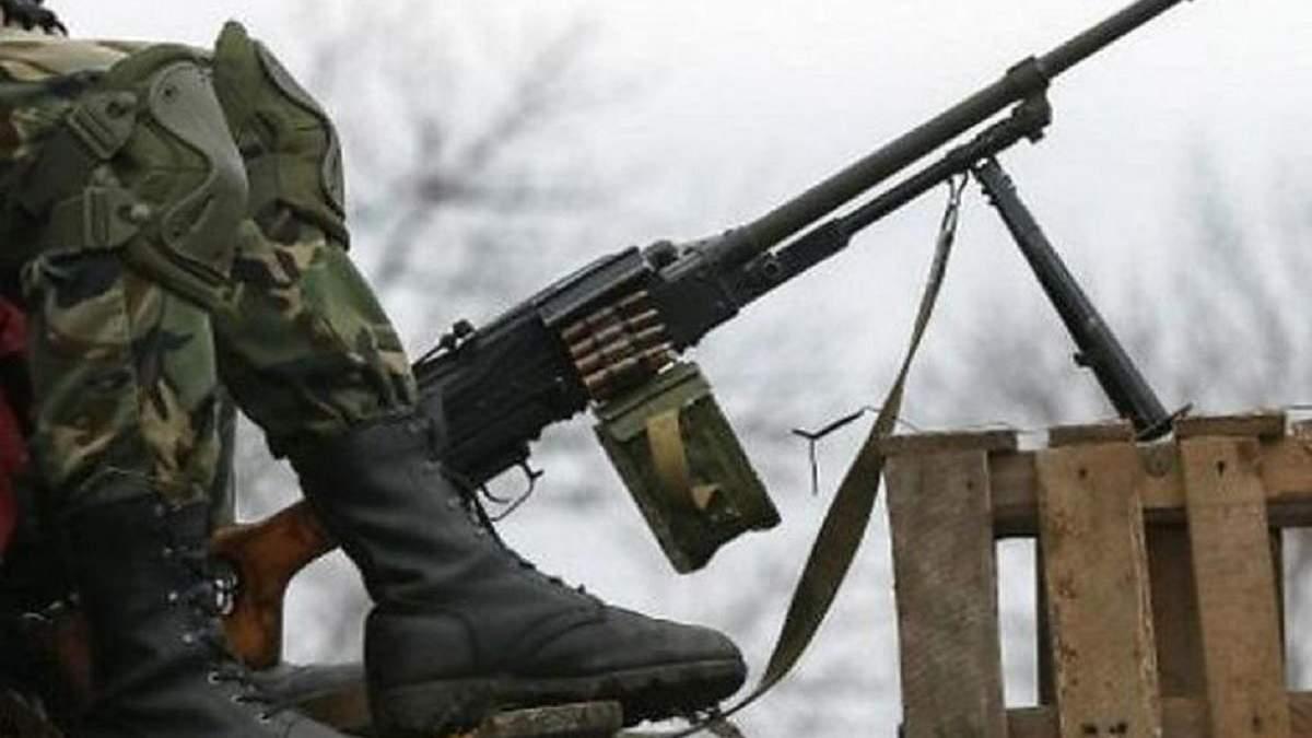 Бойовики дев'ять разів обстріляли українські позиції, обійшлося без втрат