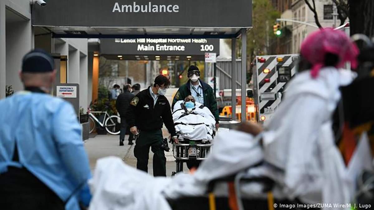Коронавірус в США – кількість померлих і хворих