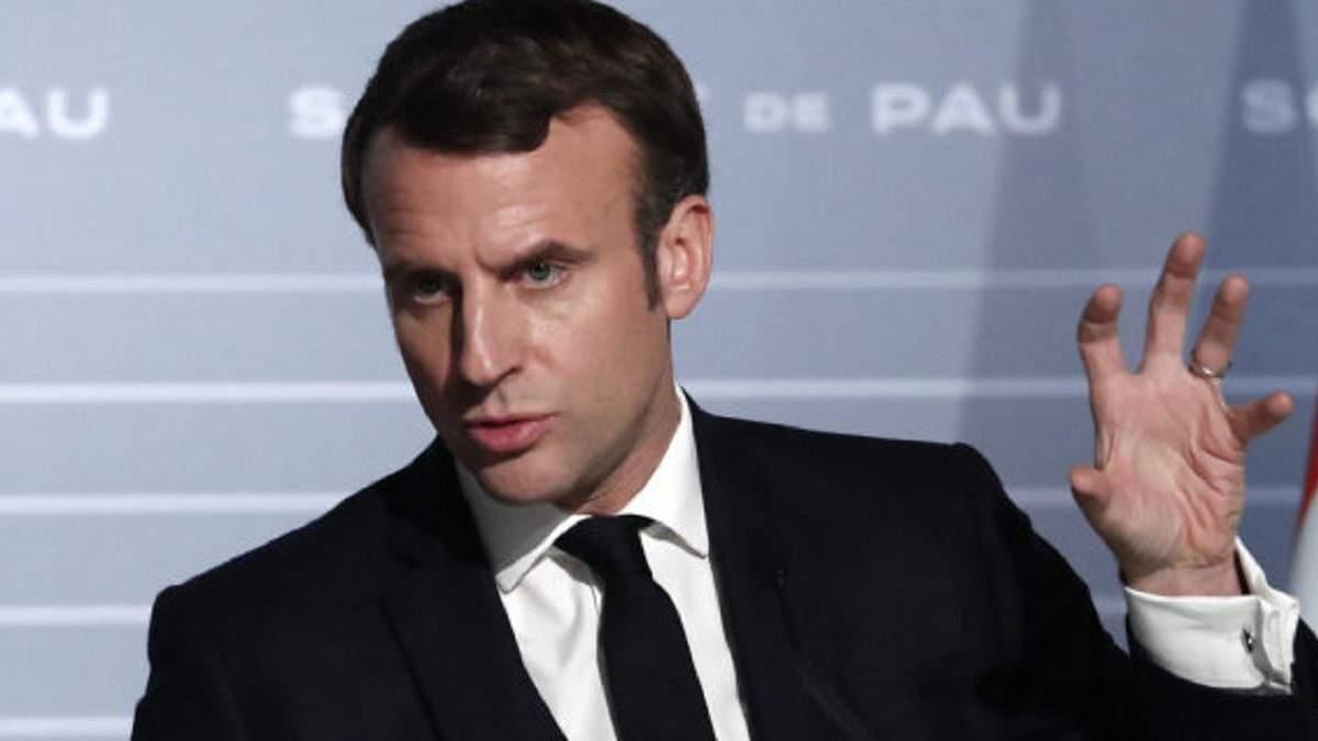 Макрон оголосив у Франції військову операцію для боротьби з коронавірусом
