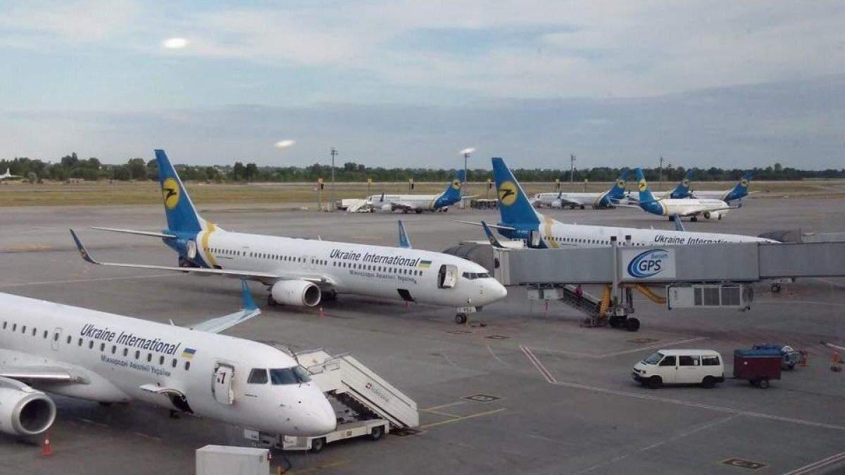 МАУ скасовує регулярні рейси до 24 квітня