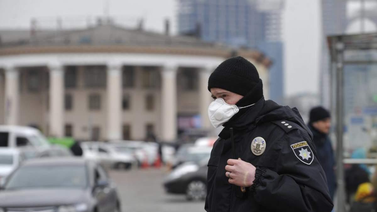 У правоохранителя обнаружили коронавирус