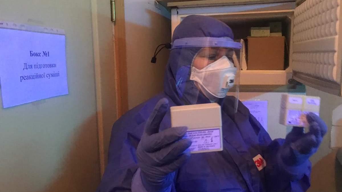 Як проводять тестування на коронавірус