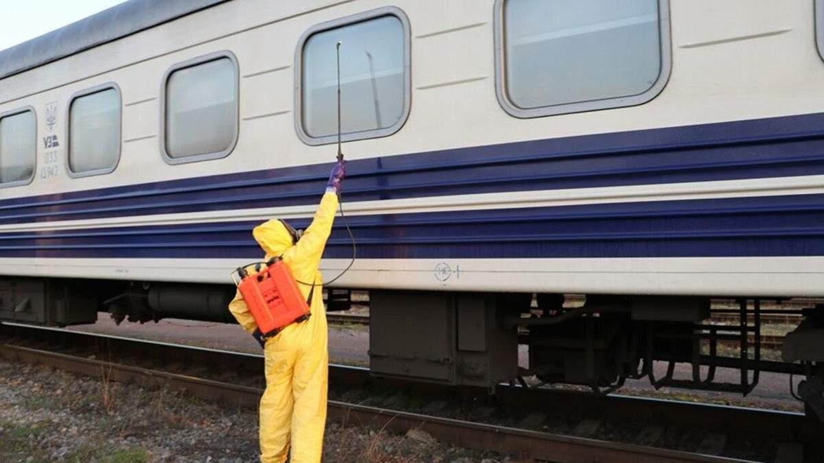 У потягу Київ – Рига, який три години тримали на вокзалі, таки був хворий на коронавірус