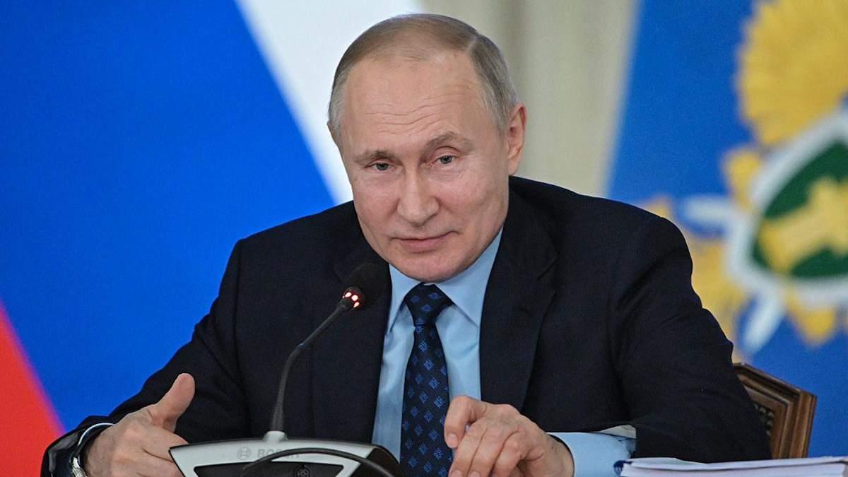 Путин говорит, что санкции и коронавирус несовместимы