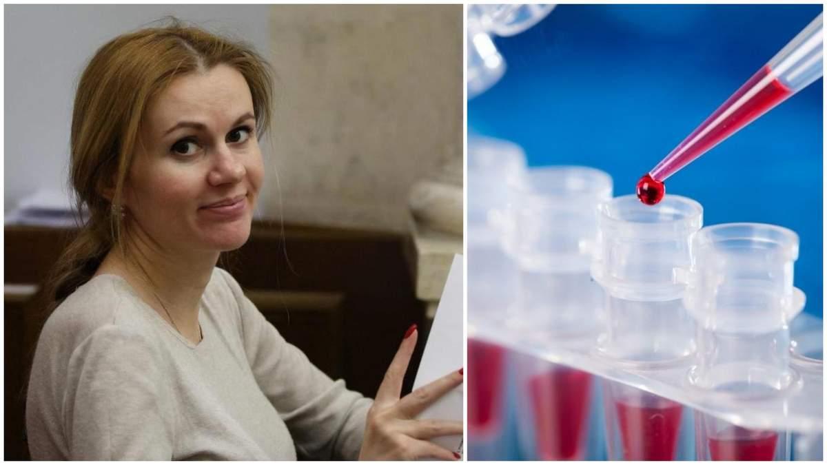 Депутатка Скороход розповіла, як намагалася здати тест на коронавірус