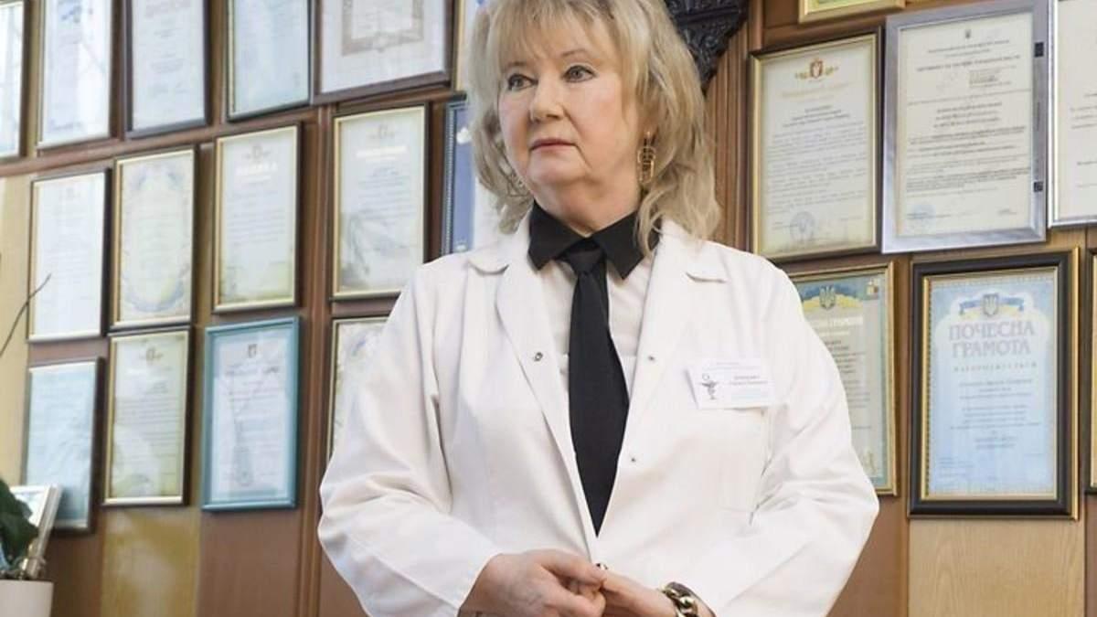 Лариса Духневич больная коронавируса - директор больницы Луцка