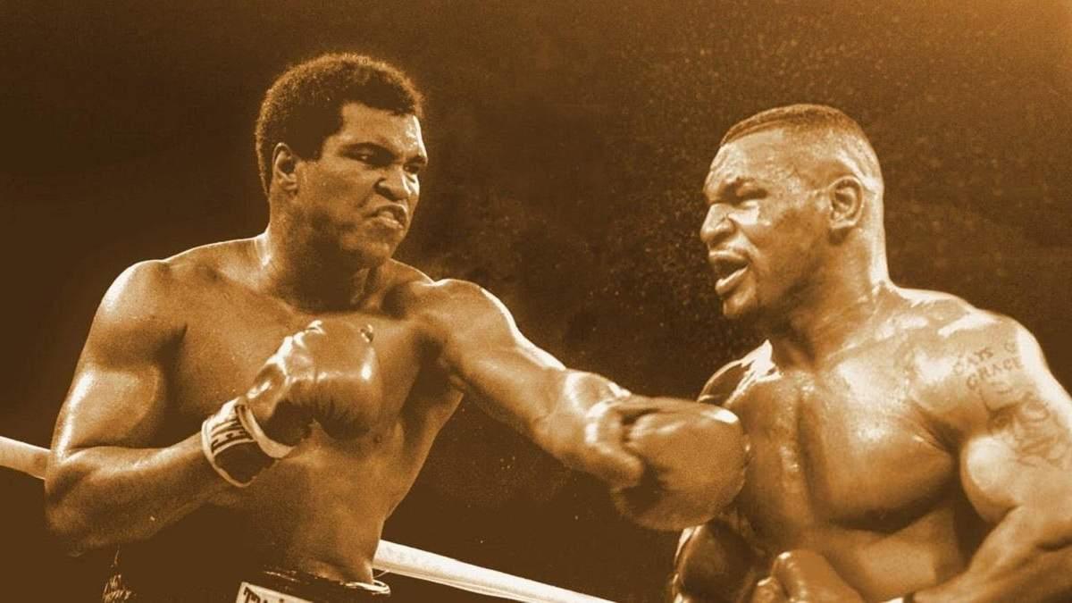 Майк Тайсон против Мухаммеда Али