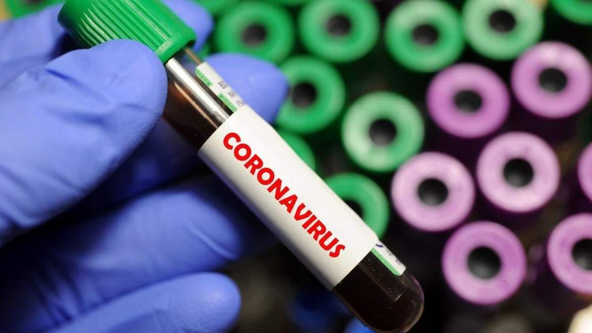 Новые случаи коронавируса в Украине