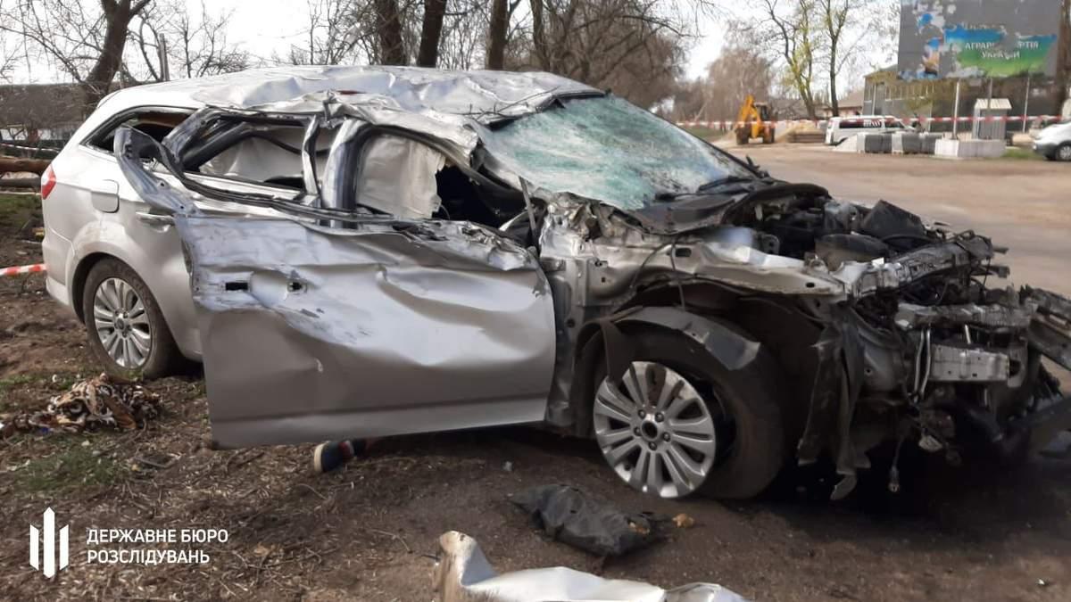 П'яний поліцейський влаштував смертельну ДТП на Кіровоградщині: фото