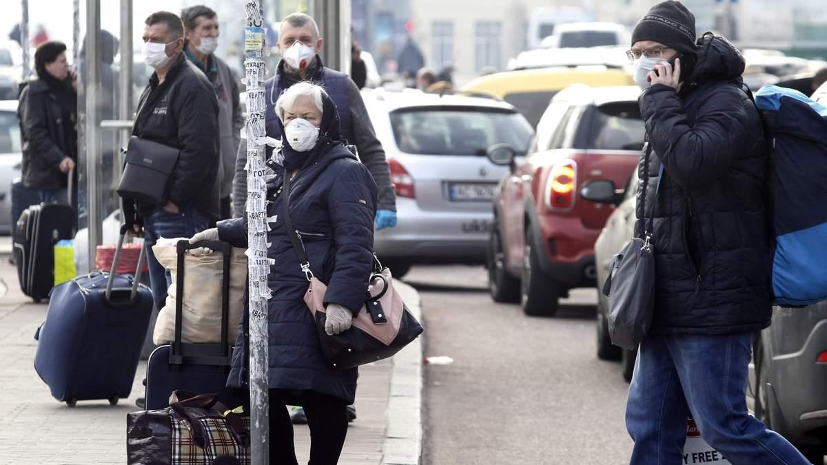 Чего больше всего боятся украинцы из-за пандемии COVID-19: опросы