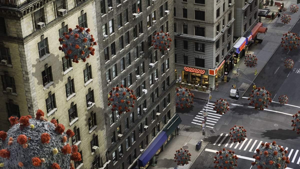 Нью-Йорк став одним з глобальних центрів пандемії COVID-19