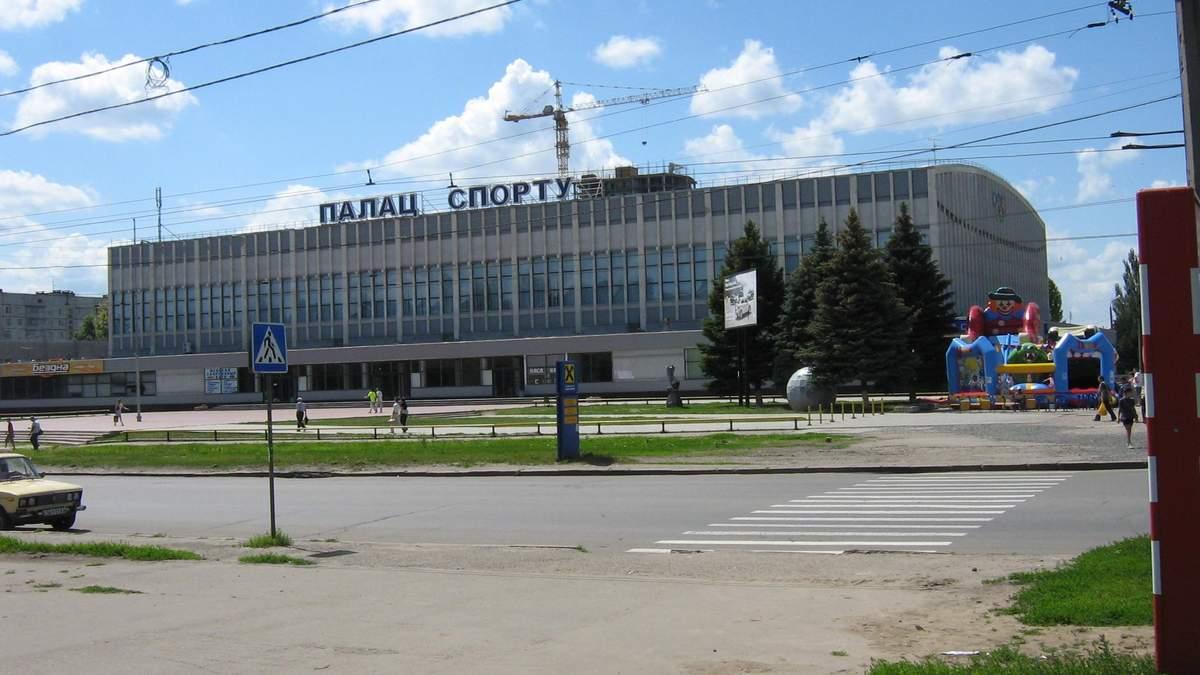 Харківський палац спорту можуть переробити під лікарню