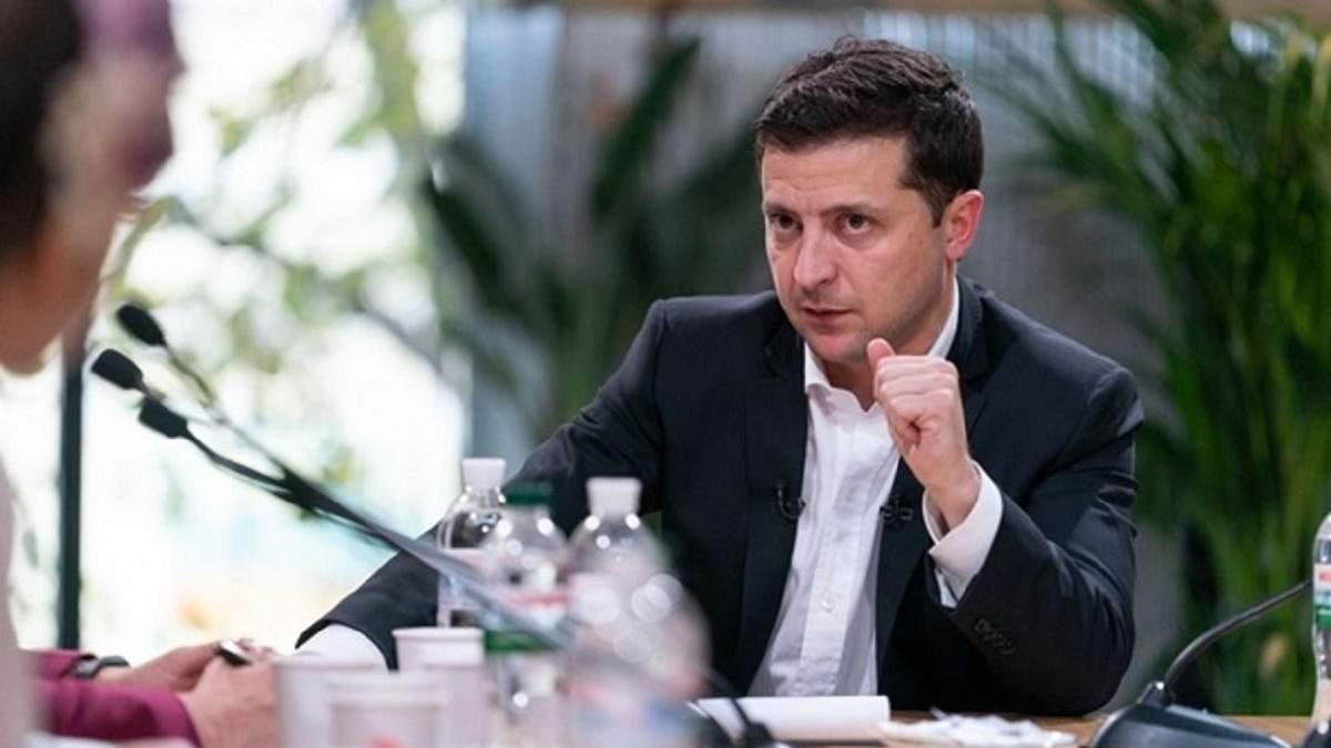Зеленський просить через коронавірус не забувати про війну на Донбасі