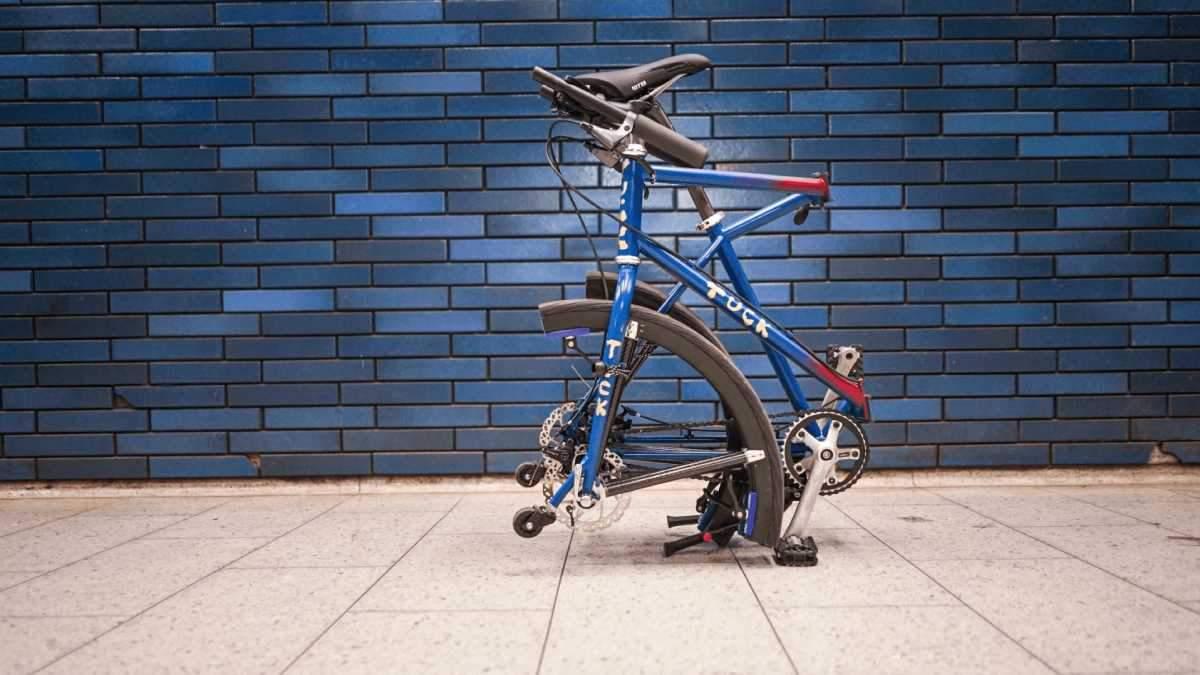 Велосипед, який можна легко скласти