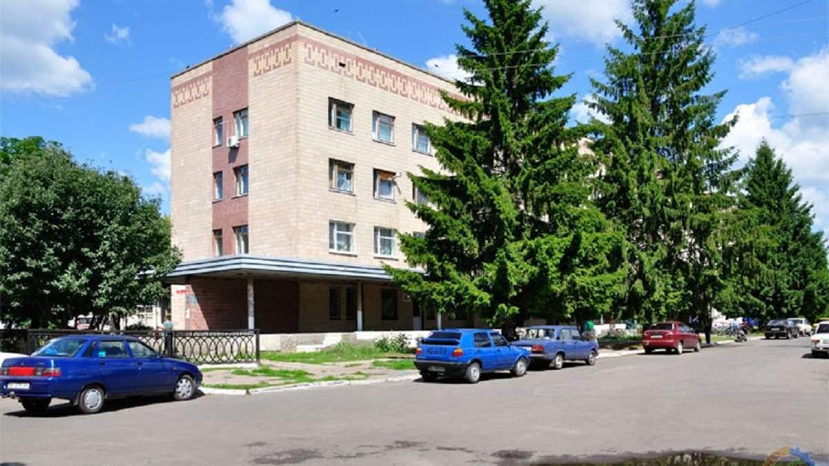 Центральная районная больница в Гребенке