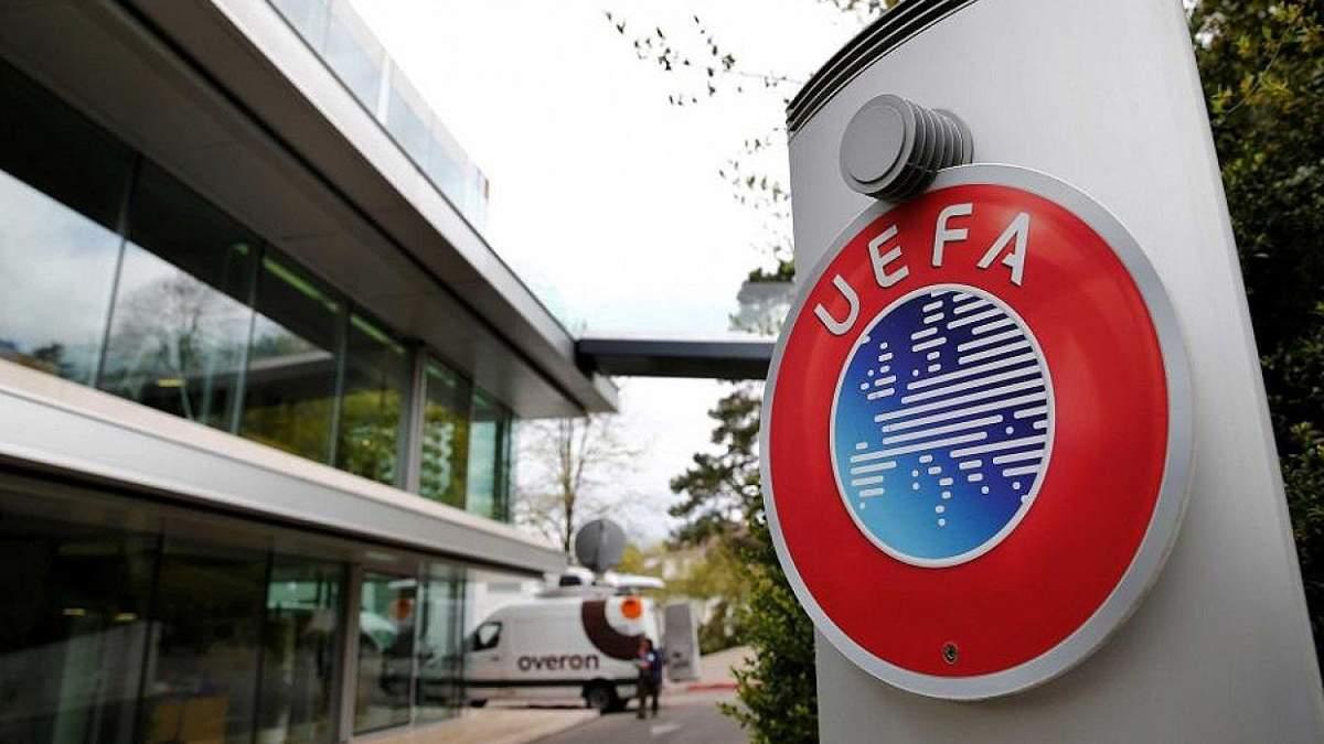 УЕФА советует лигам не отменять свои сезоны