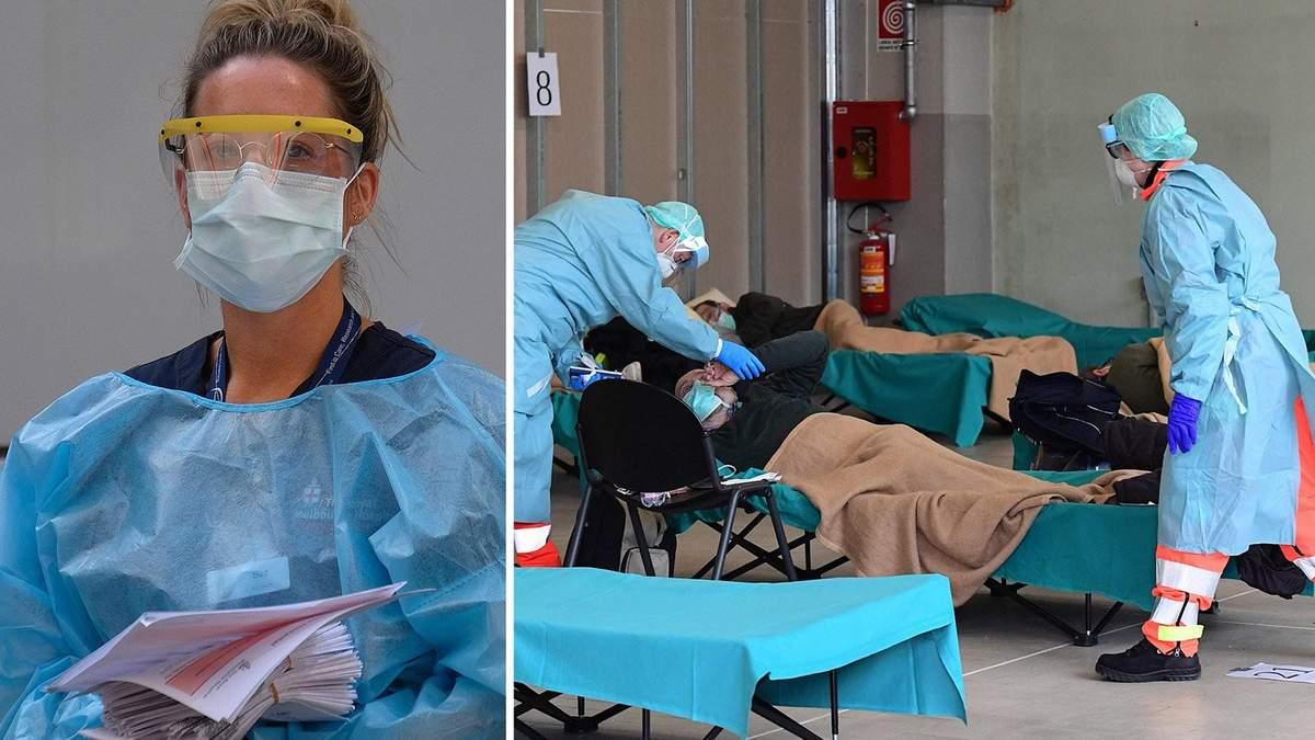 Скільки лікарів померли через коронавірус в Італії
