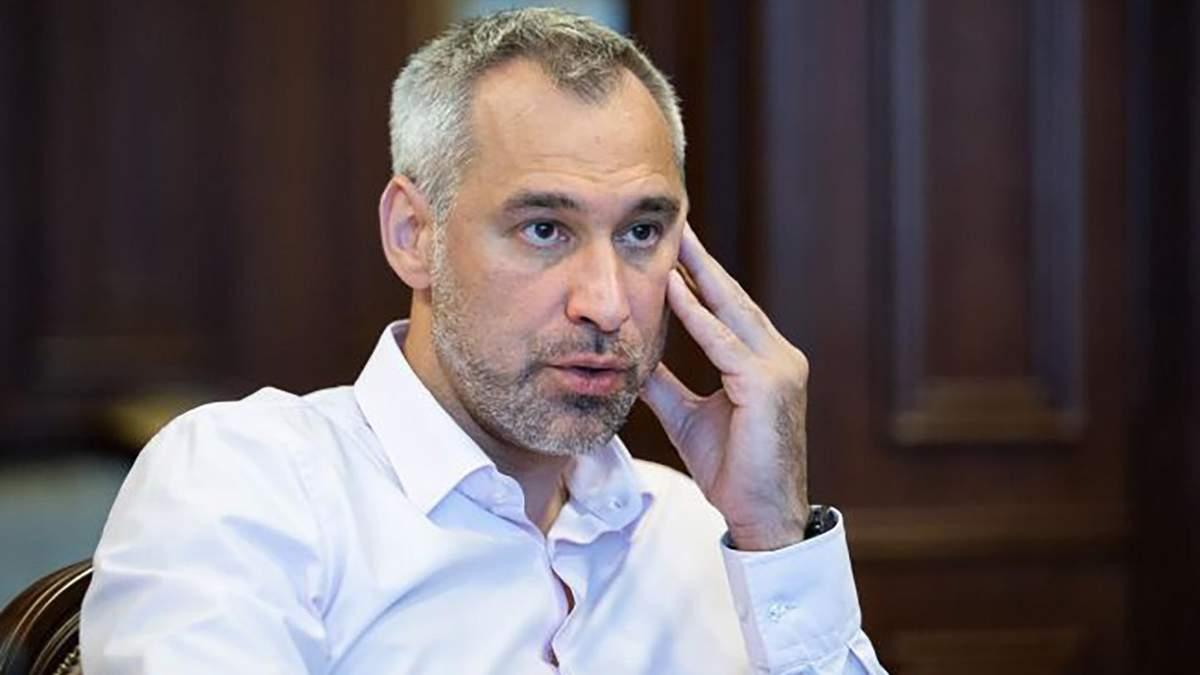 Рябошапка назвал трех ближайших к президенту людей сейчас