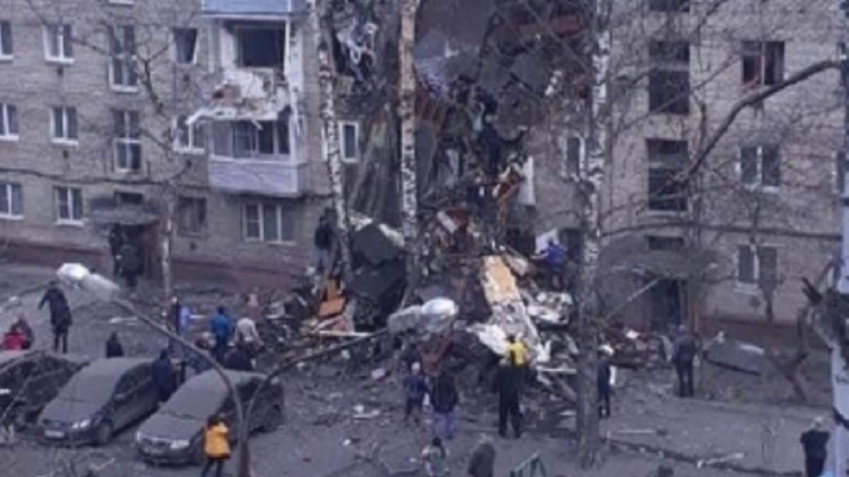 Під Москвою через вибух газу обвалився під'їзд будинку: є загиблі – фото, відео